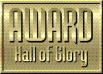 AWARD Hall Of Glory Badge