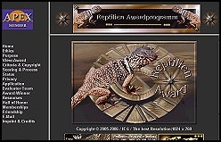 Reptilien Award Program