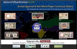 World Paper Currency Gallery