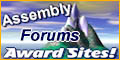 Award Sites! Assembly Forum Badge